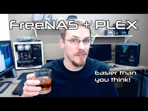 FreeNAS Home Server - PLEX Media Server