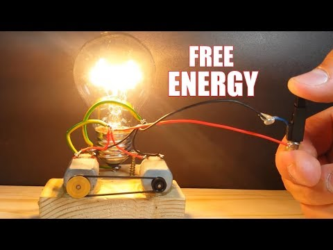 How to make Free Energy using Fruts - 2 Free Energy Sources