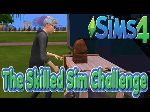 Collecting Frogs And Starting Woodworking : Episode 3 : Sims 4 : The Skilled Sims Challenge