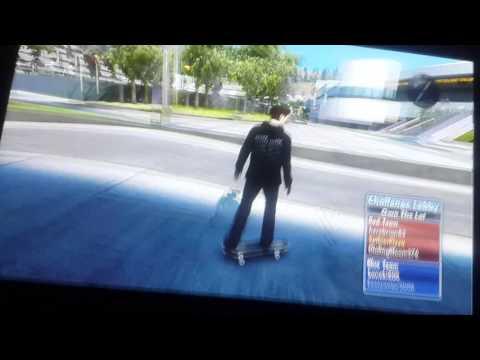 Skate 3 demo in xbox 360 online