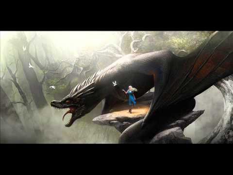 Dance Of Dragons Theme, daenerys riding drogon