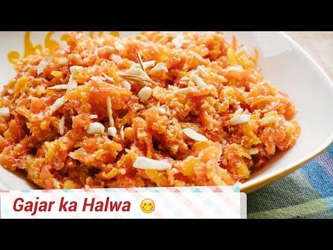 Easy Gajar Ka Halwa -  No Milkmaid, No Khoya or Mawa. Homemade Dessert.
