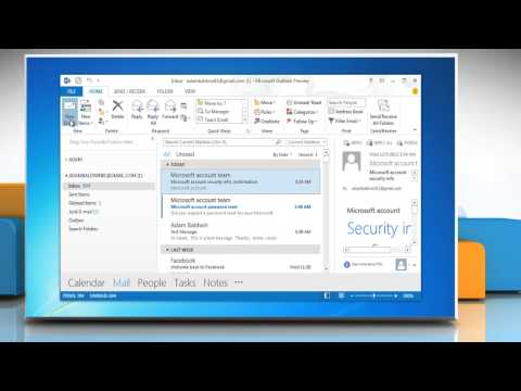How to add an Electronic Business Card to an Email Message in Outlook 2013