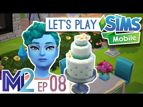 Sims Mobile Let's Play - Wedding Party! (Episode 8)