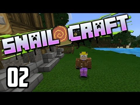 Snailcraft - 02 - Farming and  Building..