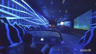 [4k] Test Track Ride  - Tron-like Attraction - Epcot - Walt Disney World