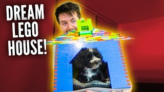 BUILDING MY DOG HIS DREAM LEGO HOME!!!