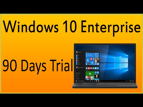Microsoft Offers Windows 10 Enterprise 90 Days Free Trial