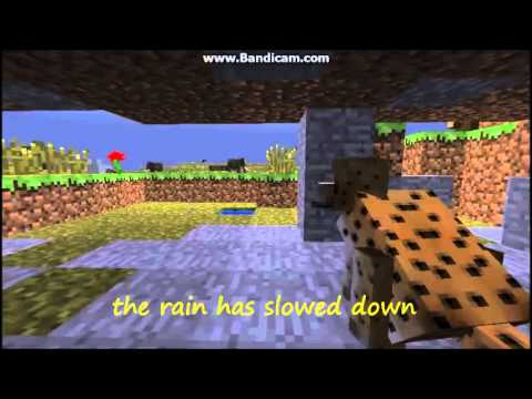 Minecraft Film: a day in the life of a cheetah