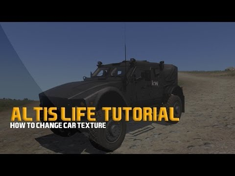 Altis Life - How to change car texture