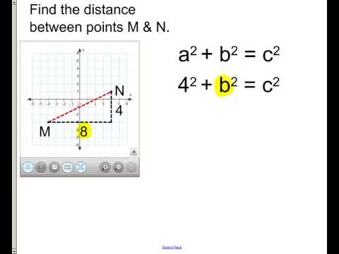 lesson - find distance between 2 points
