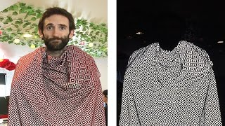 People Try An Invisibility Scarf
