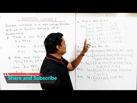 Lecture-1 Random Variable-Discrete Random Variable in Hindi