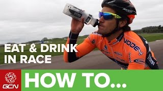 How To Eat And Drink In A Race | Racesmart