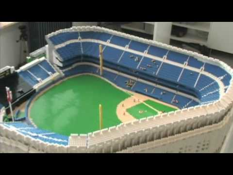 LEGO Yankee Stadium - Part 1 of 3