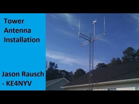 Tower Antenna Installation