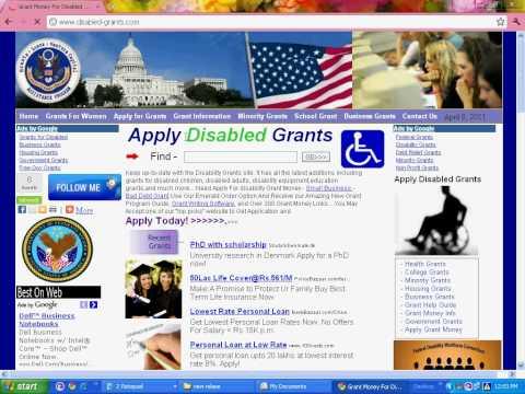 Govt Grants for Disabled