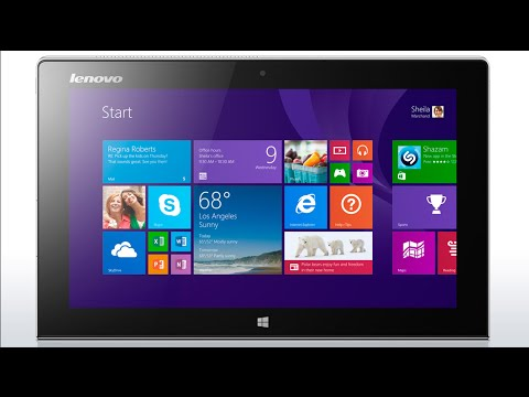 How to Reset Windows 8 Password on Lenovo Tablet
