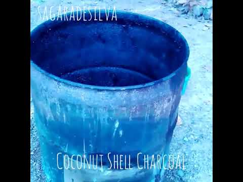How to Make Coconut Shell Charcoal at Home