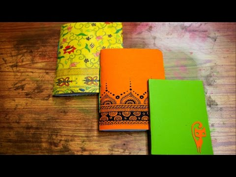 How To Make A Handmade Book | DIY Paper Crafts