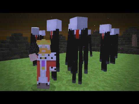 Minecraft Xbox | MODDED Hide & Seek - SLENDER MAN