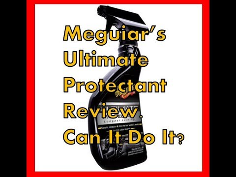 Meguiar's Ultimate Protectant Review & Test Results | Is It Good?