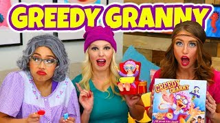 GREEDY GRANNY GAME IN REAL LIFE. FAMILY FUN WITH TOTALLY TV FOR KIDS.
