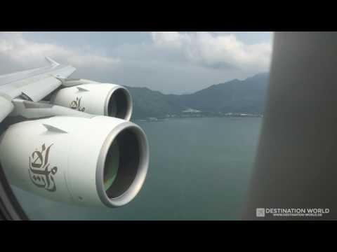 Emirates EK382 A380 Dubai - Hongkong