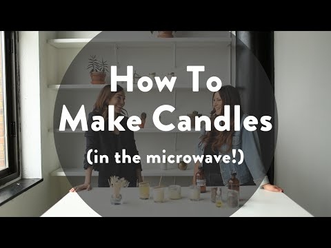 How To Make Candles In the Microwave // Jess Lively Vlog #7