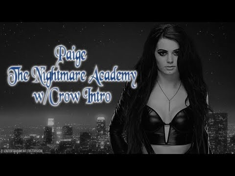 PAIGE UNUSED FACE RETURN THEME w/CROW INTRO (The Paper Melody-The Nightmare Academy)