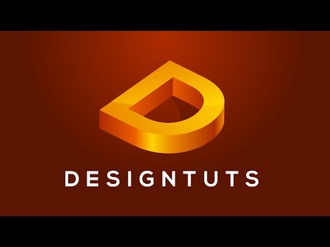 Adobe Illustrator Tutorial: Letter 3D Logo   [ Style 1 ]