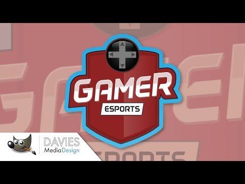 GIMP Tutorial: Create an eSports Team Logo (2018)