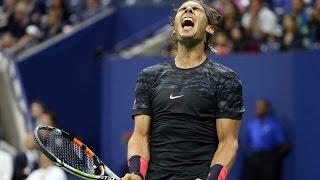 Rafael Nadal ♦ Amazing Forehands in Grand Slam (HD)
