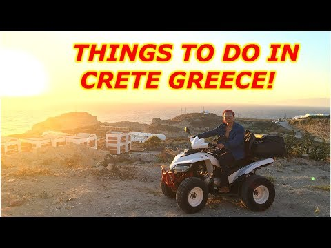 THINGS TO DO IN CRETE GREECE |Chania Agia Marina Elafonissi Beach 2018