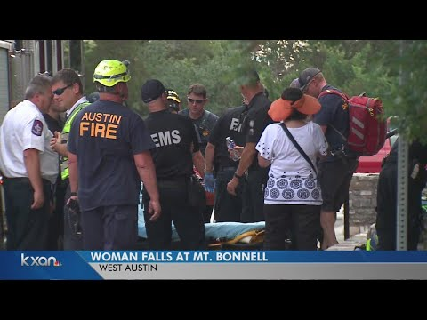 Woman injured after reported fall at Mount Bonnell
