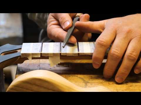 fret crowning and fret end dressing files from Crimson Guitars and how to use them