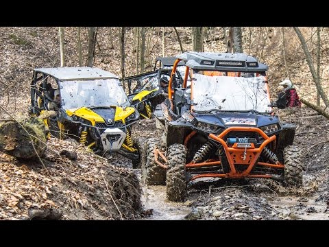 Xxx Mp4 Spring SXS ATV Beat Down UTV ATV Trail Riding Comparison Polaris Vs Can Am 3gp Sex
