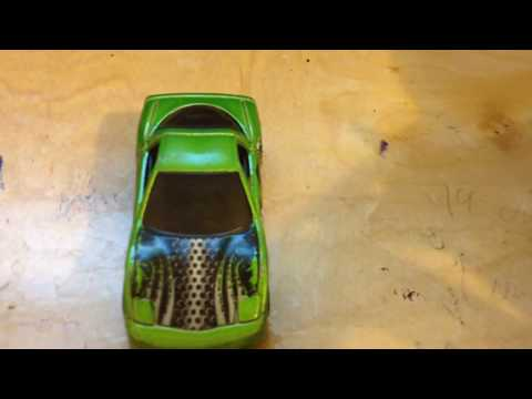 How to clean a hot wheel