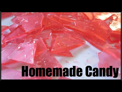 Homemade Hard Candy