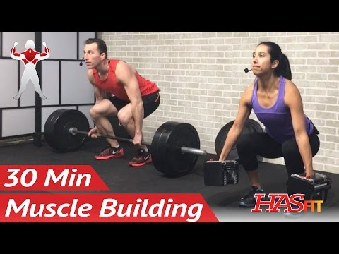 30 Min Back and Biceps Workout to BUILD MUSCLE Muscle Building Workouts Back and Bicep Bodybuilding