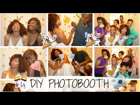 ENGAGEMENT SERIES | ENDLESS ROWEMANCE | DIY Photo Booth | How to