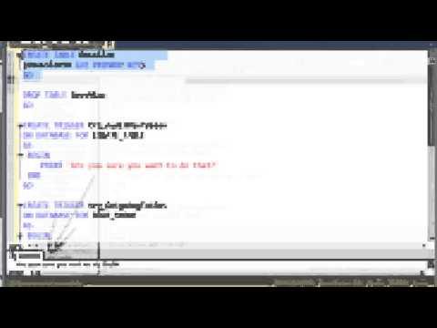 SQL 2012 DDL Triggers Lab 3.3