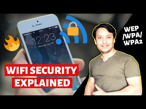 WiFi Security Explained | What is WEP WPA WPA2 ? (Hindi)
