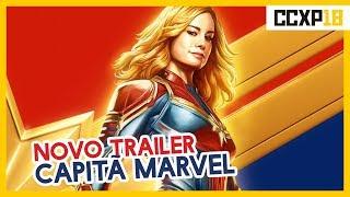 NOVO TRAILER DE CAPITÃ MARVEL NA CCXP!!!