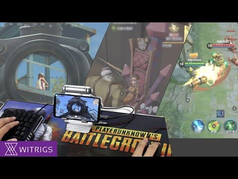 GameSir X1 PUBG Gamepad Review | iPhone Android Universal Mouse and Keyboard