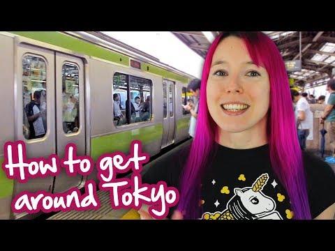 How to get around Tokyo: Trains & Tokyo Metro / Subway