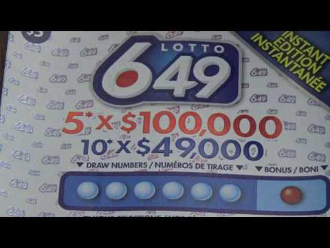 Scratch Ticket Sunday - Lotto 649 Instant Edition! Big Win? Or CLICKBAIT!?