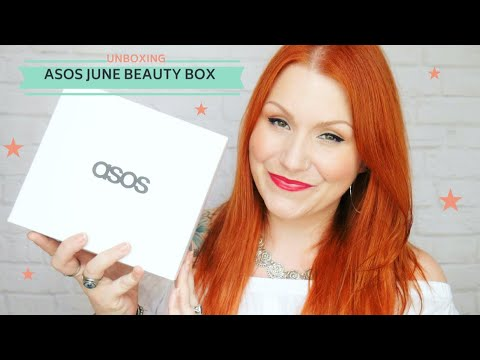 ASOS June 2018 Monthly Beauty Box Unboxing