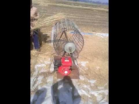 Amazing Rice cutting machine made by pakistani