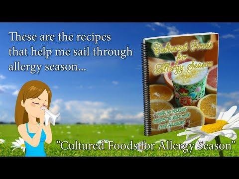Cultured Foods for Allergy Season Recipe eBook
